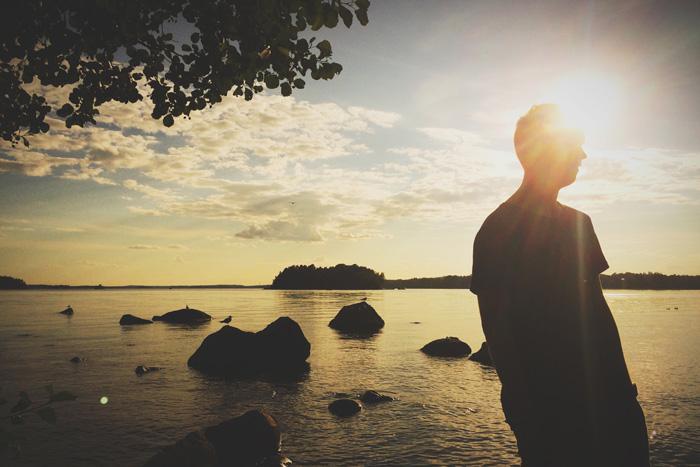 Mobiilikamera on aina mukana. Myös silloin kun auringonlasku on kauneimmillaan.
