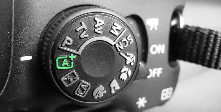 Kurkistus kameran kuvaustiloihin