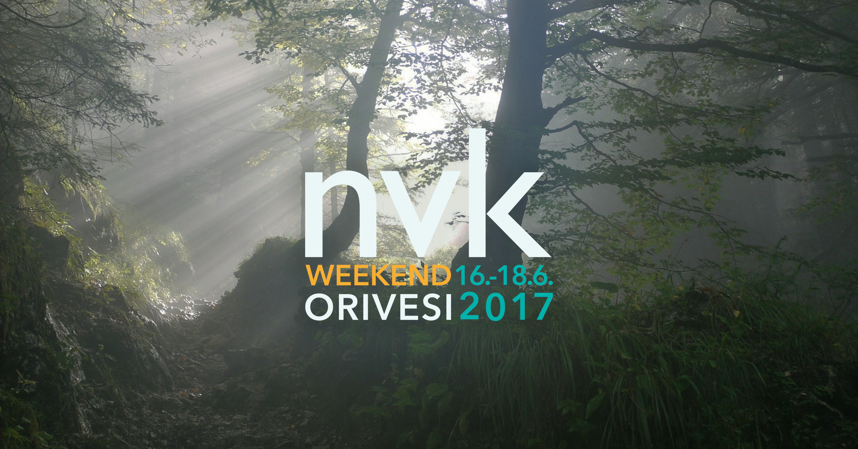 NVK Weekend Orivesi  16.-18.6.2017