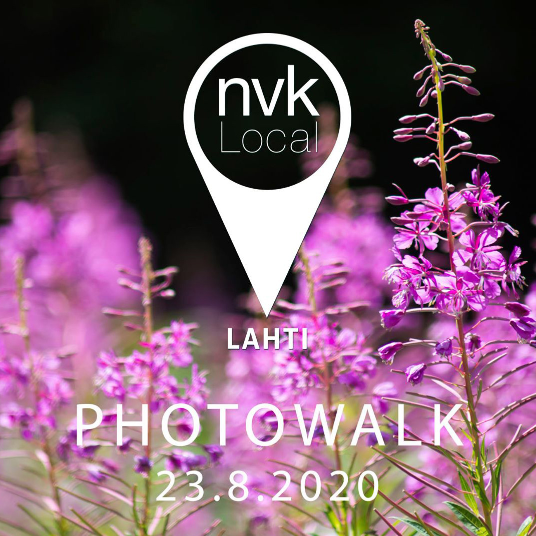 NVK Local Lahti Photowalk 23.8.2020