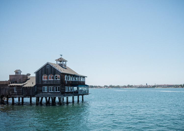 House above the ocean