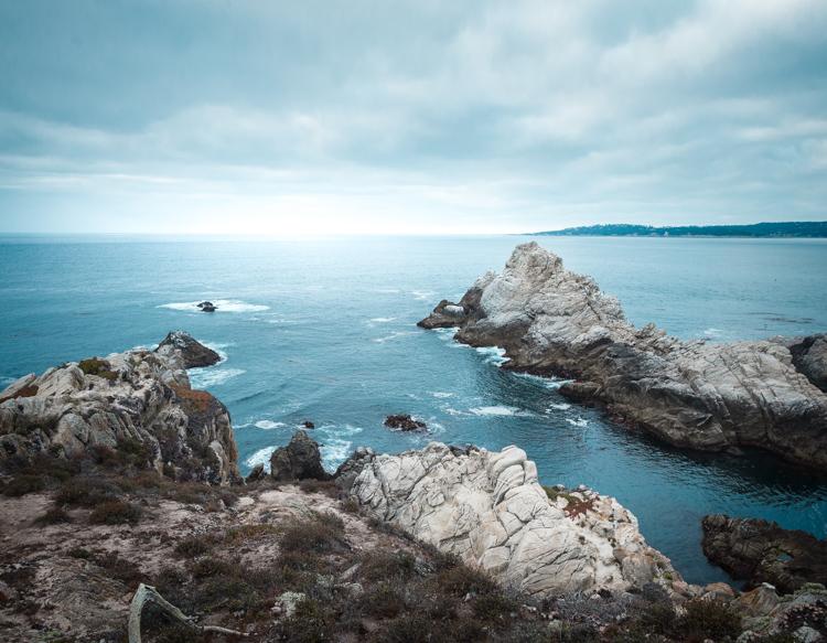 Point Lobosin karua kauneutta